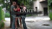 EXTREME Public Threesome with pretty Carmen PART 1