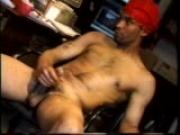 Mike strokes his dick