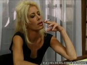 Mature Blonde Nailed By Boss