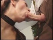 Girl sucks cock dry pt 2/2