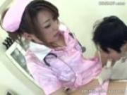 asian nurse femdom in fetish clinic