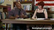 Emo Schoolgirl Takes Black Cock