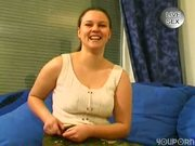 German girl shaves and plays - Venality Productions