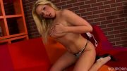 Sheryl loves her black dildo - Trion Media