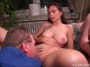 All ages welcome at the gang bang (clip)