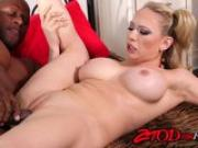 Kagney Linn Karter takes a huge black dick in the ass