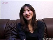 Sweet Oriental girl plays and sucks