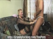 granny takes the dick deep