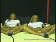 Twin Babes And Their Dueling Dildos 