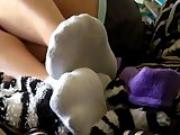 Gfs short white socks tease. Estrella LIVE on 720cams.com