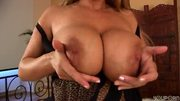 Solo time with busty MILF Adele