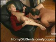 Two female students and mature guy