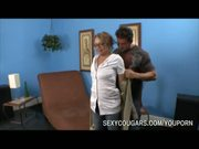 Blonde Cougar Dick Pounded