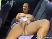Car solo Busty French Milf Michelle