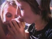 Cheating GF MILFS sucking cock fuck lesbian action
