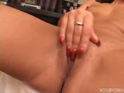 Spicy Latina takes a big black cock deep