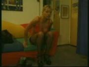 Peeping Tom Watches Naked Blonde