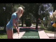 Ashley golf course flashing and masturbating