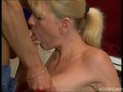 Guy puts his cock in her cock locker