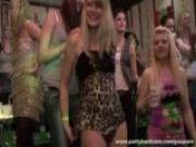 Interracial orgies at the local sex club