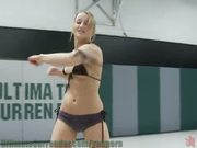 All Girl wrestling action