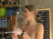 Maria - Hot Public Nudity With Sweet Babe
