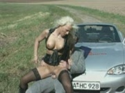 Roadside blonde