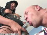 StrapAttackers Madison Ivy Fucks Guy With Dildo