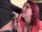 La Cochonne - Busty french babe Julie Valmont fucked during an interview