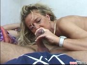 Milf Fucks A Guy w/ Dick Piercing