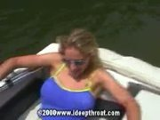 Heather Broke Blowjob On The Boat
