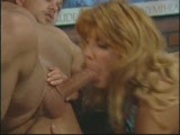 Three guys and one hot girl make for a fun time (CLIP)