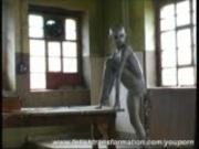 Bizarre alien transformation