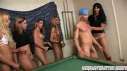 Pool playing Trannies