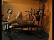 Working out, and working a cock - Julia Reaves
