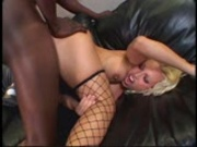 Nasty Nikki Hunter loves big black cock