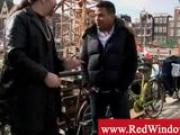Amsterdam tourist meets with pimp to get hooker