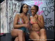 Foot Fetish Black Lesbians Toying Pussy