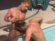 Two studs fuck poolside - Dack Videos