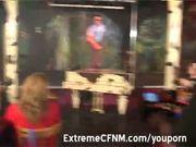 CFNM Party wild women suck and fuck in public