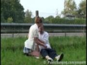 Extreme Public Sex By a Freeway PART 1