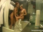 Samantha Saint Sexy NY Shower