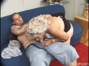 He likes to fuck older mature women