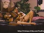 White guy on black chick vintage action