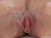Playing with her pussy in the shower - ANT Studio