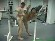 gymnast fucking in hot splits