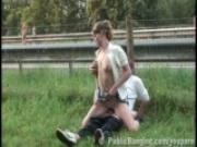 Extreme Public Sex By A Freeway PART 2