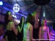 Wild girls get crazy in the disco