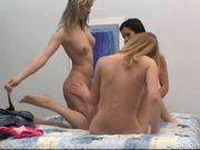 Lesbian threeway with Megia, Scarlet & Salome