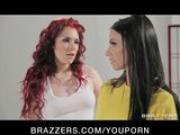Big-tit brunette Pornstar Juelz Ventura fucked by big black dick